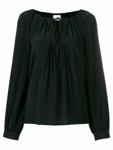 Dondup pleated detail blouse - Black