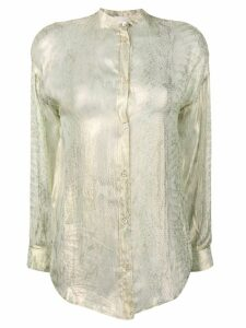 Forte Forte long sleeved blouse - GOLD