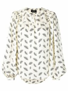 Isabel Marant wheat print blouse - Neutrals