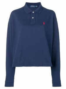 Polo Ralph Lauren long-sleeved polo shirt - Blue