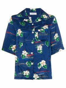 Racil tony hawaiian shirt - Blue