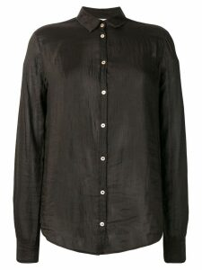 Forte Forte crinkled effect shirt - Black