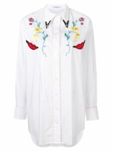 Vivetta long-sleeve boyfriend shirt - White