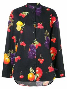 MSGM fruit print shirt - Black