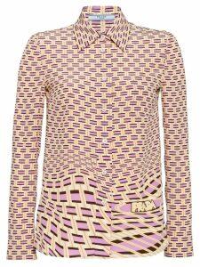 Prada Crepe de chine blouse - Pink