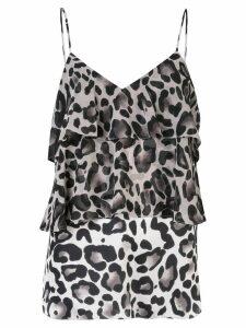 Goen.J leopard print camisole - Multicolour