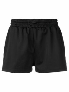 Red Valentino side appliqués shorts - Black