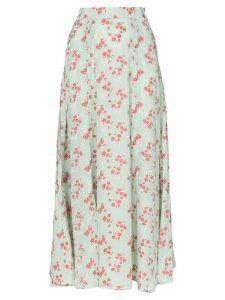 N Duo Hamptons floral print maxi skirt - Green