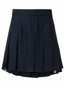 Thom Browne School Uniform pleated skirt - Blue