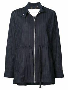 Adam Lippes side ties jacket - Blue