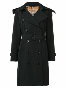 Burberry double breasted trench coat - Black