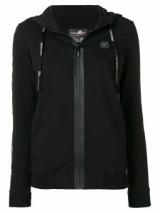 Plein Sport Tiger zipped-up cardigan - Black