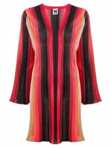 M Missoni striped knitted cardigan - Red