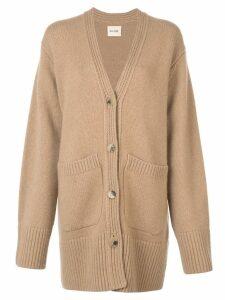 Khaite oversized cardigan - Brown