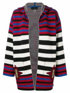 Alanui knit striped cardigan - Red