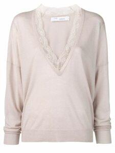 Iro v-neck sweater - Neutrals