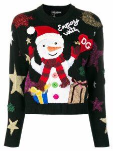 Dolce & Gabbana Snowman jumper - Black