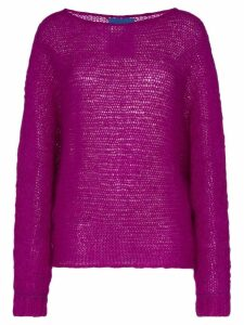 Simon Miller fay mohair jumper - PURPLE