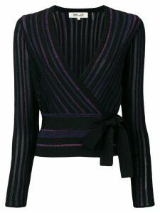 Diane von Furstenberg glitter knit jumper - Black