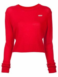 RE/DONE 50's crew neck jumper - Red