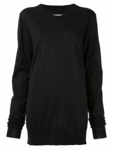 Maison Margiela classic knit sweater - Black