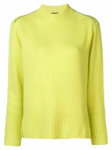 Joseph long-sleeve fitted sweater - Yellow