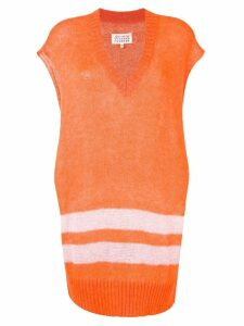 Maison Margiela short-sleeved jumper - Orange