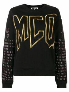 McQ Alexander McQueen logo sweatshirt - Black