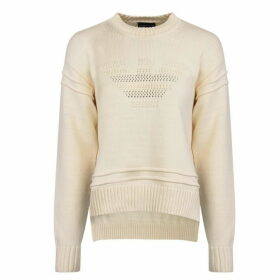 Emporio Armani Eagle Knit Jumper