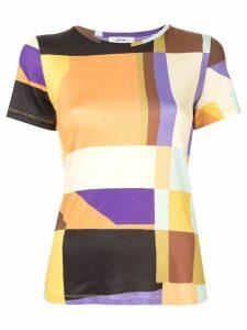 Goen.J geometric print T-shirt - Multicolour