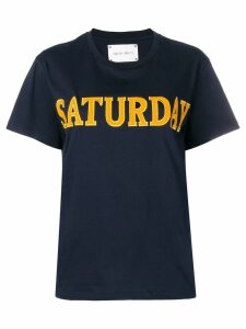 Alberta Ferretti Saturday T-shirt - Blue