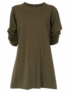 Gloria Coelho longsleeved tunic - Green