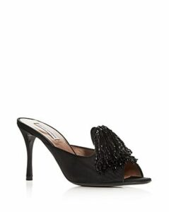 Tabitha Simmons Women's Pammy Embellished High-Heel Slide Sandals