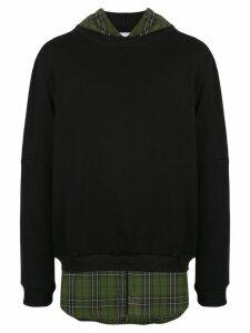 Strateas Carlucci Hybrid hoodie - Black
