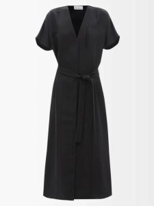 Loewe - Fringed Cotton And Silk Blend T Shirt - Womens - Red Print