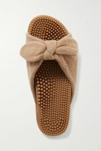 The Elder Statesman - Intarsia Cashmere Sweater - Pink