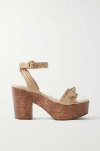 Co - Striped Silk-habotai Shirt - Blue