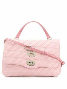 Zanellato Postina quilted tote bag - PINK