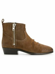 Golden Goose side-zip ankle boots - Brown
