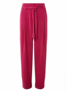 Womens Vero Moda Fuchsia Trousers - Pink, Pink