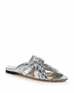 Jimmy Choo Women's Lela Knotted Slide Sandals