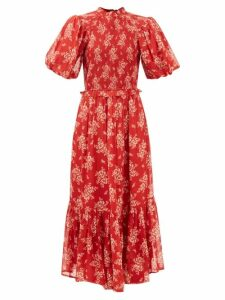Raey - Belted Mohair-blend Cardigan - Womens - Ivory