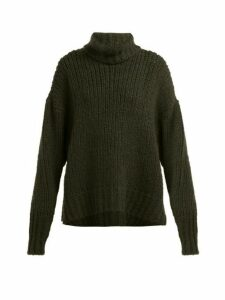 By. Bonnie Young - Bouclé Cashmere Blend Sweater - Womens - Green