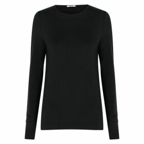 Wolford Black Stretch-jersey Top