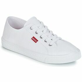 Levis  MALIBU BEACH S  women's Shoes (Trainers) in White