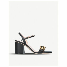 Marmont 75 leather sandals