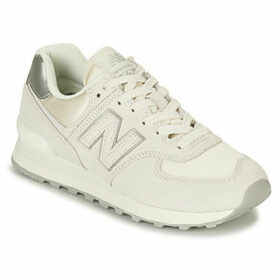 New Balance  WL574  women's Shoes (Trainers) in White