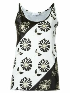 Gloria Coelho printed blouse - Black