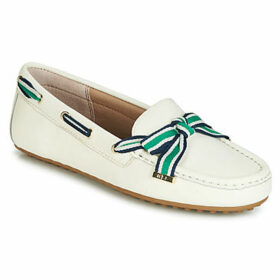 Lauren Ralph Lauren  BECKA  women's Loafers / Casual Shoes in White