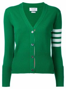 Thom Browne cashmere V-neck cardigan - Green